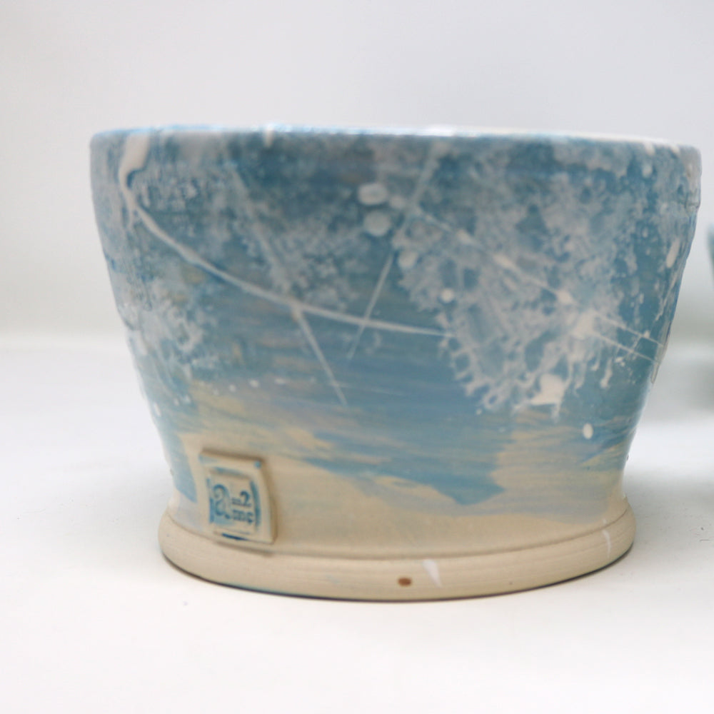 Turquoise bowl by Andrea McCullough-Alderdice