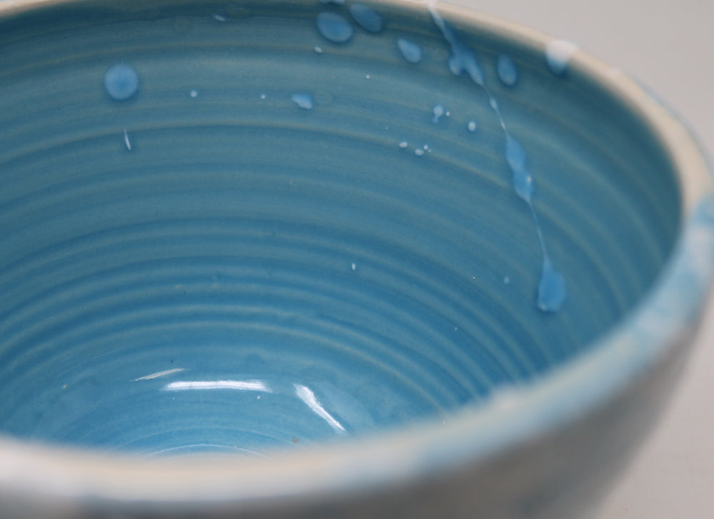 Small Turquoise bowl by Andrea McCullough-Alderdice