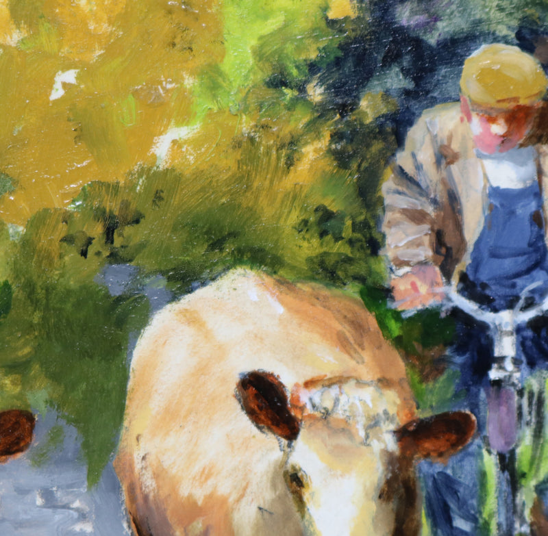Noel Shaw - Moving the Cows