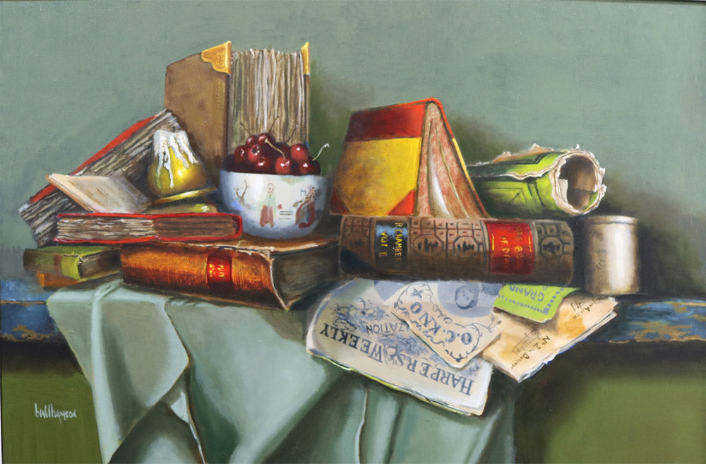 Barry Williamson - Library Table