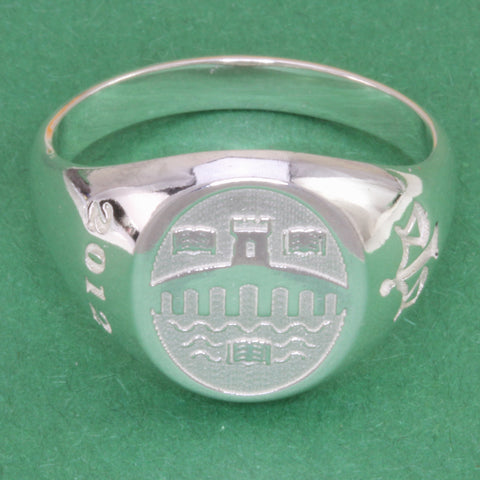 Stirling Graduation Ring - Gents