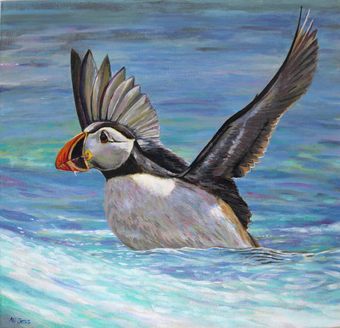 Alison Jess -  Taking Off - Puffin