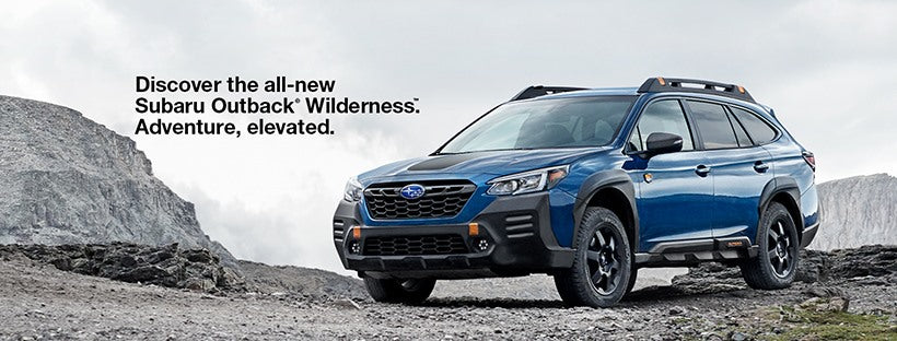 The all new 2022 Outback Wilderness officially unveiled