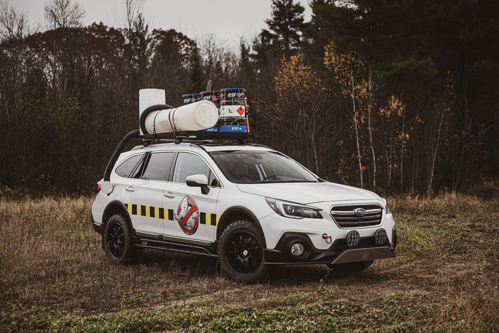 Subaru Outback LP Aventure edition - Ghostbusters-inspired car - Halloween