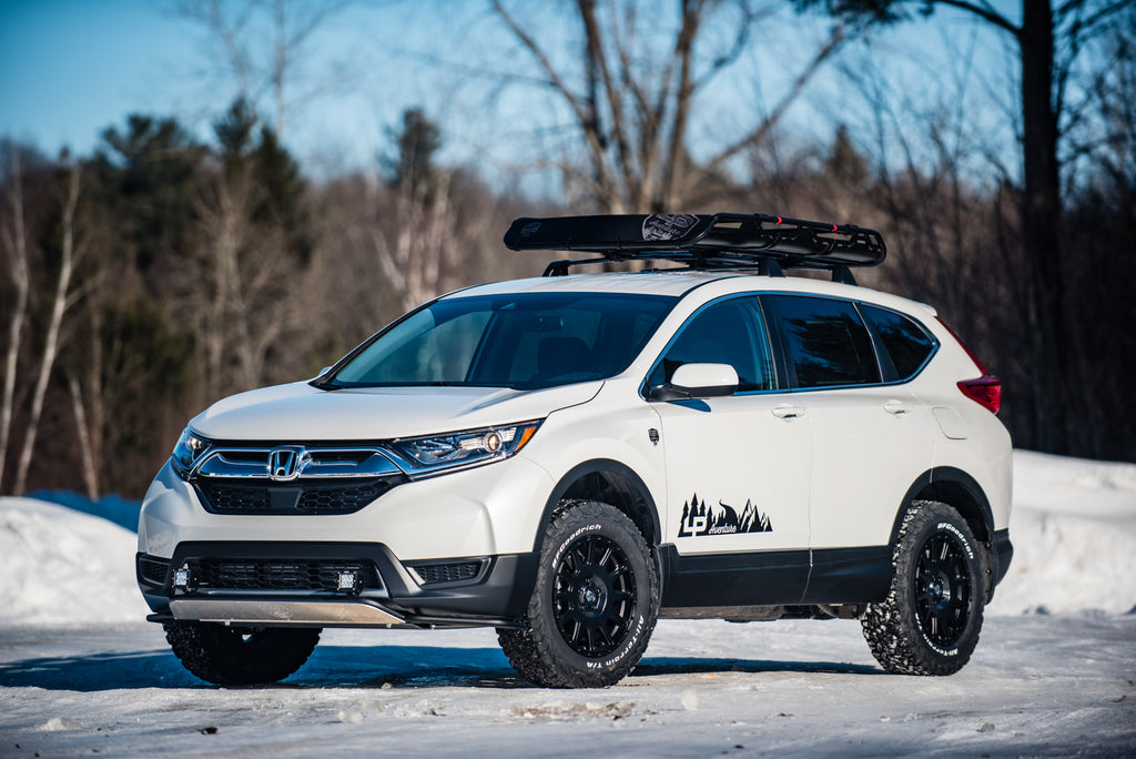 """Subaru Outback Lift Kit >> Projects - CR-V – Tagged """"crv"""" – LP Aventure Inc"""