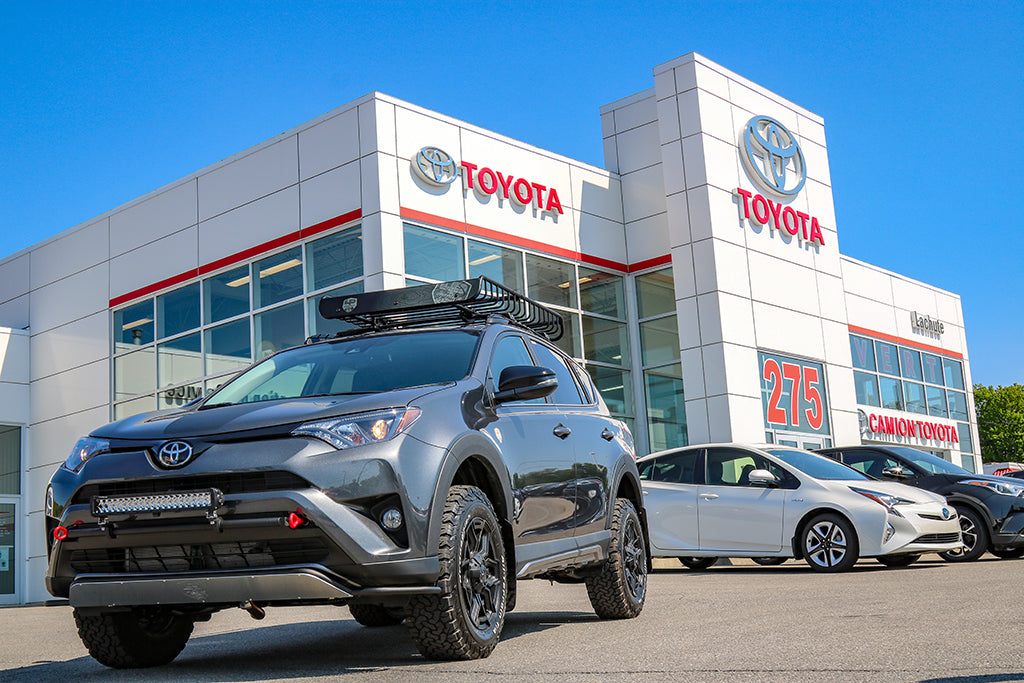 LP Aventure products for Toyota RAV4 are now available at Toyota Lachute.