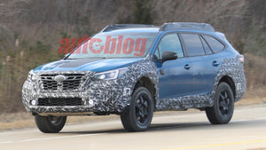 Subaru Outback Wilderness edition - Spy photos