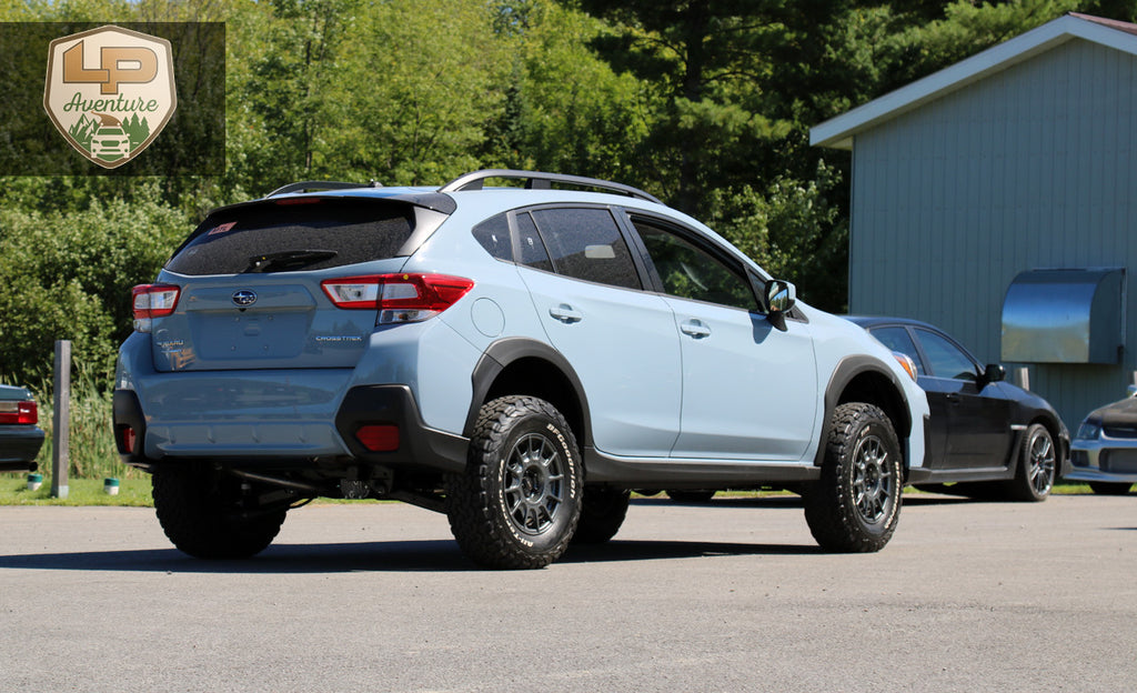 2018 Subaru Crosstrek - lift kit - tires & wheels – LP