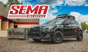 2018 Crosstrek - SEMA project - Rockford Fosgate - Bill Garrison