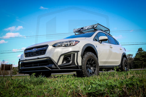 lp aventure lift kit subaru crosstrek 2018 lachute. Black Bedroom Furniture Sets. Home Design Ideas