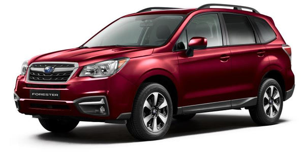 2017 2.5i Subaru Forester - Venetian Red Pearl – LP Aventure (a division of Lachute Performance ...