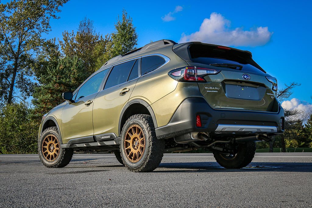 the first lp aventure lifted 2020 subaru outback. - lp