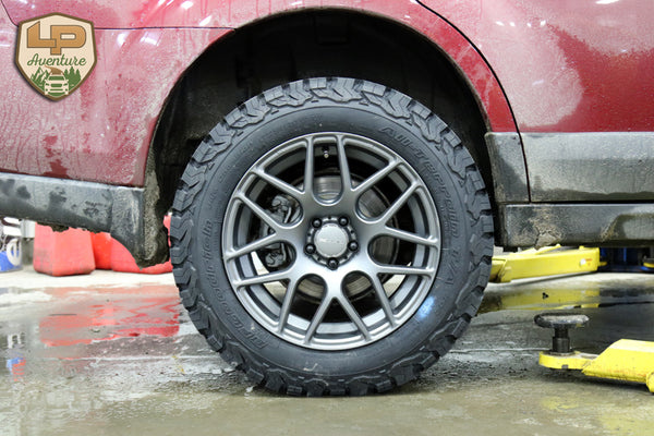 New tire size available for the 2010-2014 Outback. – LP ...