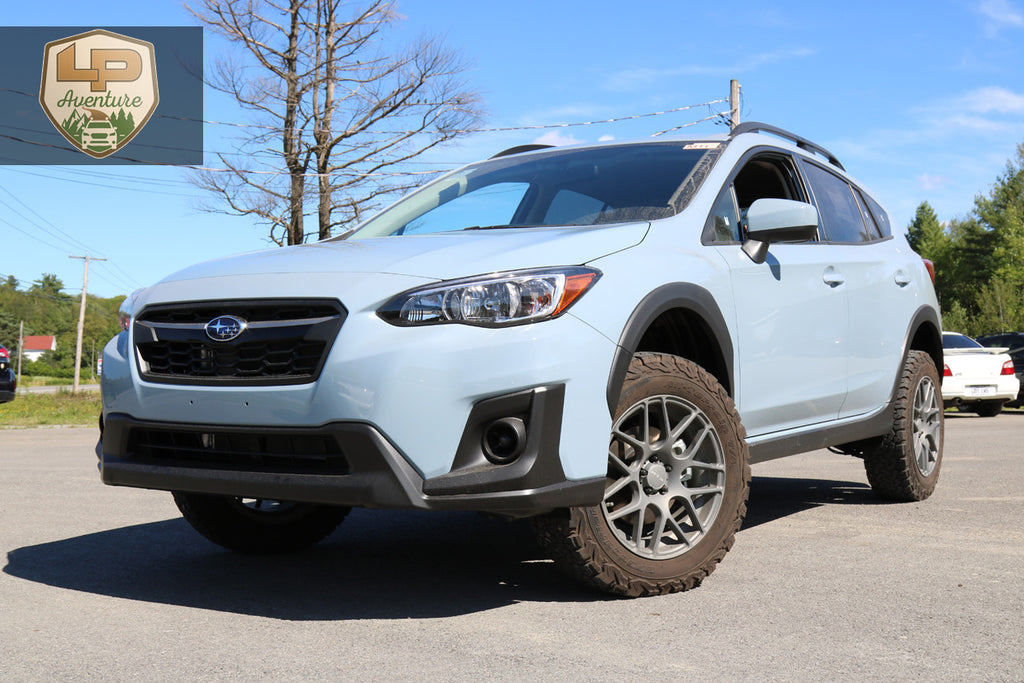 Subaru Crosstrek Rims >> 2018 Subaru Crosstrek - lift kit - tires & wheels – LP Aventure Inc