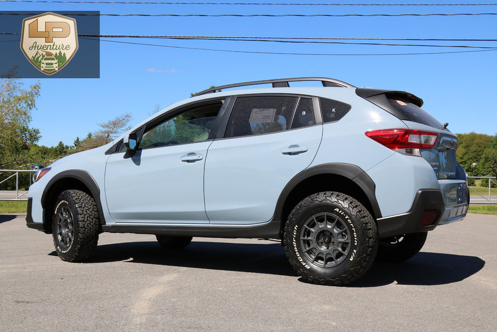 2018 subaru crosstrek lift kit tires wheels lp. Black Bedroom Furniture Sets. Home Design Ideas