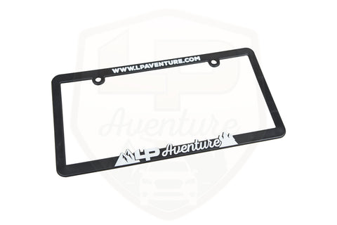 LP Aventure Licence Plate frame