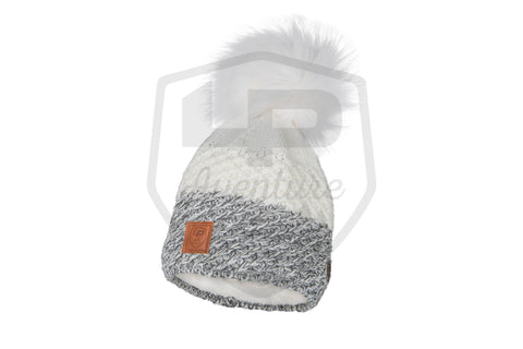 LP Aventure Tuque - Two-tone acrylic knit