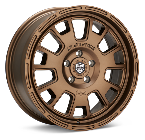 LP Aventure wheels - LP7- 17x8 ET38 5x114.3 - Bronze