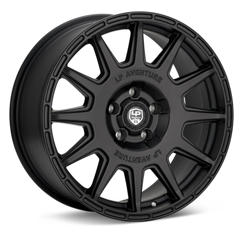 LP Aventure wheels - LP1 - 18x8 ET35 5x114.3 - Matte Black