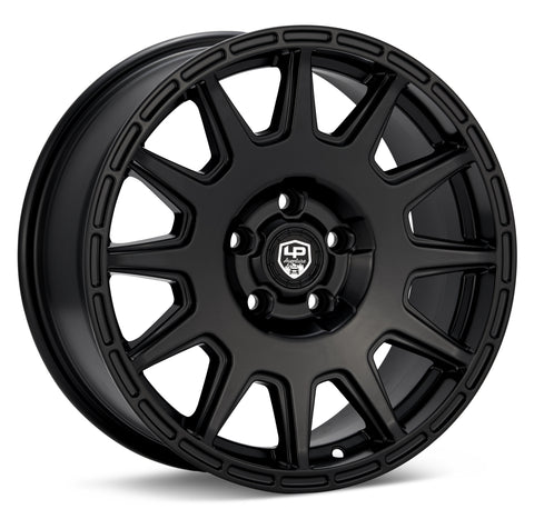 LP Aventure wheels - LP1 - 17x7.5 ET20 5x114.3 - Black