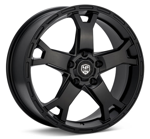 LP Aventure wheels - LP2 - 17x8 ET20 5x114.3 - Black