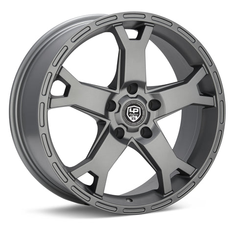 LP Aventure wheels - LP2 - 17x8 ET38 5x114.3 - Matte Grey