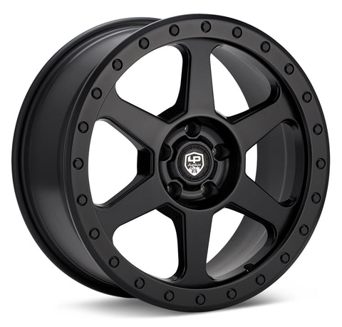 LP Aventure wheels - LP3 - 17x8 ET20 5x100 - Matte Black