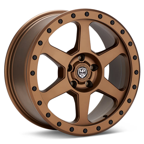 LP Aventure wheels - LP3 - 18x8 ET38 5x100 - Bronze