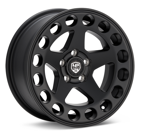 LP Aventure wheels - LP5 - 15x7 ET15 5x100 - Matte Black