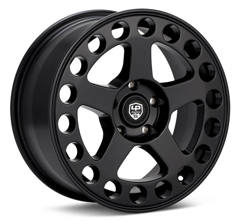 LP Aventure wheels - LP5 - 17x8 ET38 5x114.3 - Matte Black