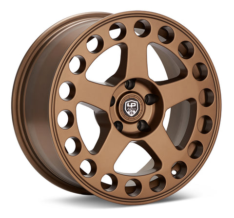 LP Aventure wheels - LP5 - 17x8 ET38 5x100 - Bronze