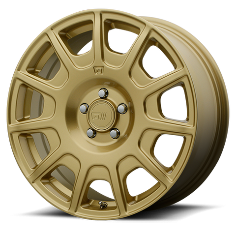 Motegi Racing MR139 - 17x7.5 - 5x114.3 - Rally gold