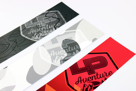LP Aventure deflector stickers