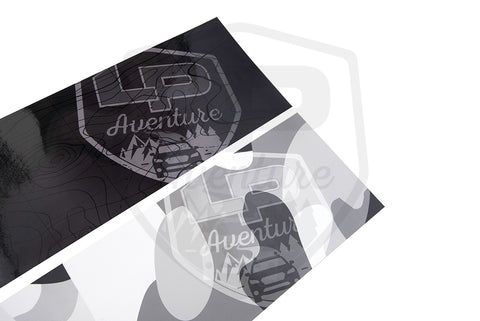 LP Aventure deflector stickers - OFF GRID