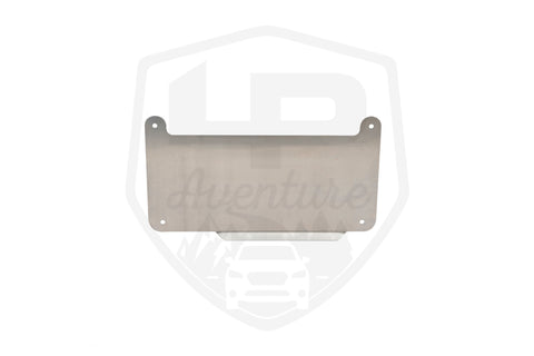LP Aventure rear skid plate for CVT transmission - Subaru Crosstrek 2018-2020