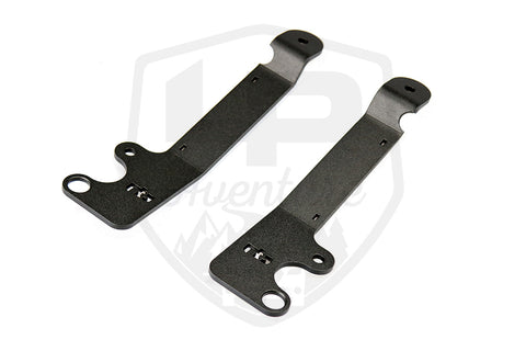 LP Aventure - Hood light brackets (Pair) - 2018-2020 Subaru Crosstrek