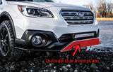 Front plate - Outback small bumper guard - Option