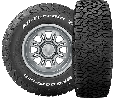 bfgoodrich all terrain t a ko2 255 55r18 lp aventure inc. Black Bedroom Furniture Sets. Home Design Ideas