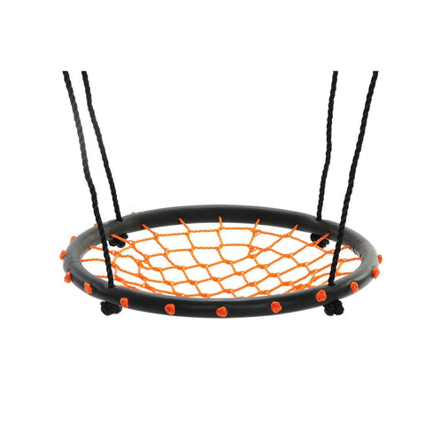 24″ Spider Web Swing, Orange by Swinging Monkey