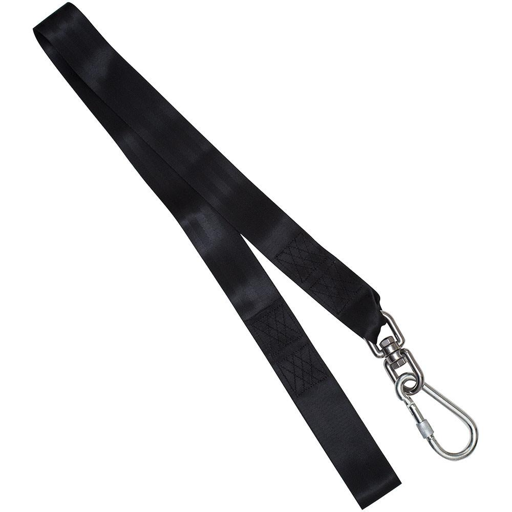 tree swing hanging strap with swivel by swinging monkey
