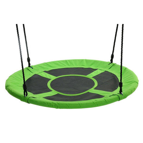 Giant 40″ Saucer Fabric Swing, Green by Swinging Monkey