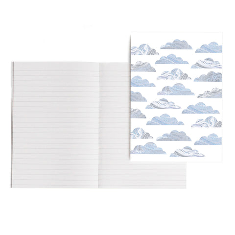 Marble Clouds Notebook