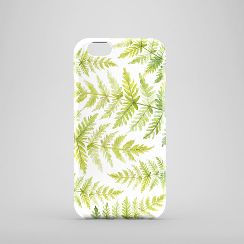 Fern Print Phone Case