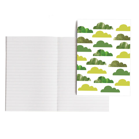 Green Clouds Notebook