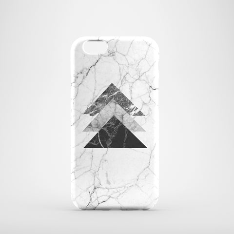 Monochrome Marble Phone Case