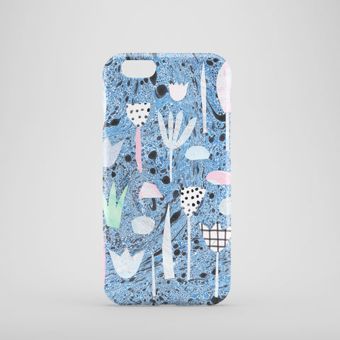 Marble Plants Phone Case