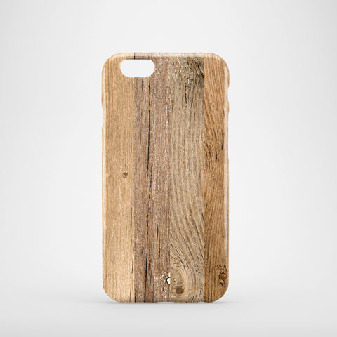 Dark Wooden Phone Case