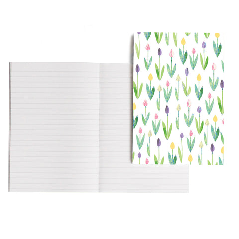 Tulip Garden Notebook