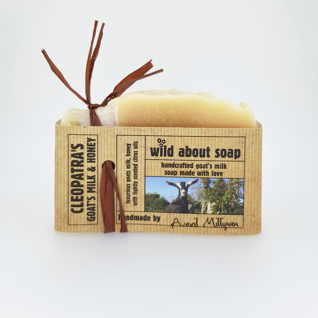 Cleopatra's Goats Milk & Honey Soap Bar