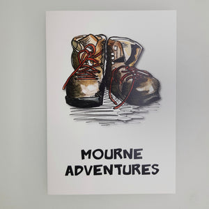 Mourne Adventures Card